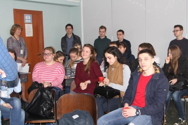 Экскурсия студентов МГТУ имени Баумана